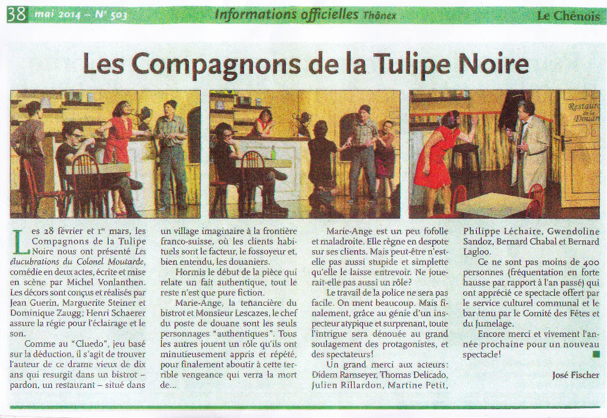 article Thônex 2014